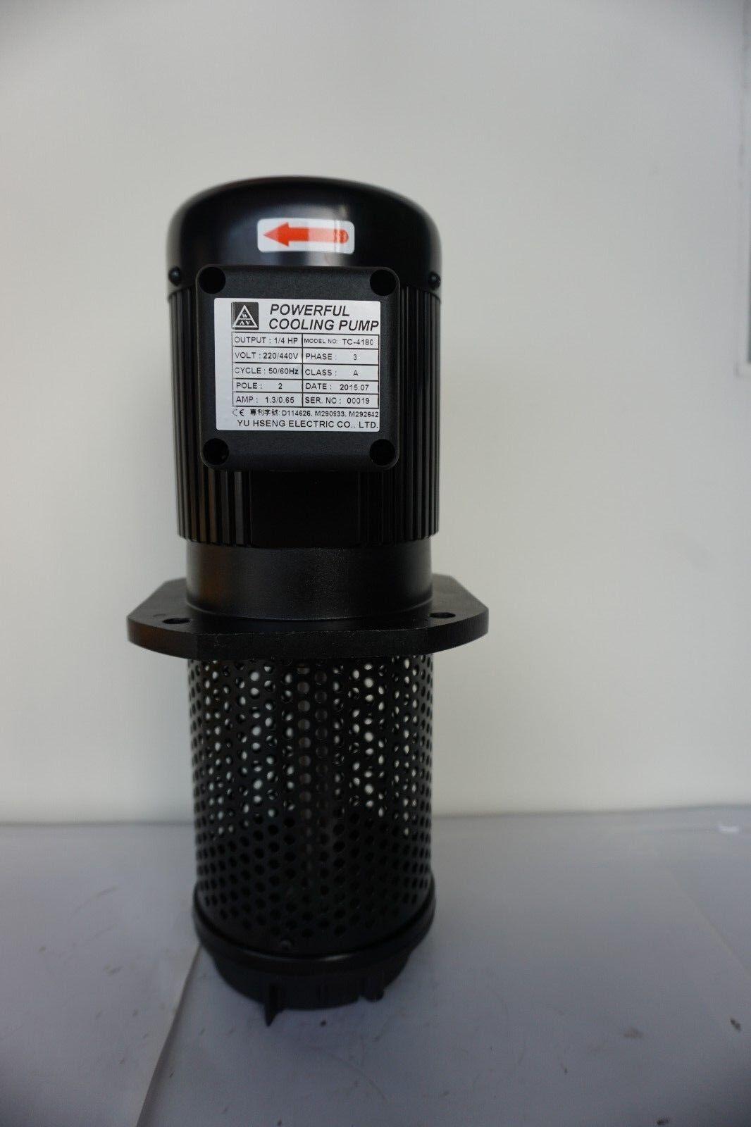 "180mm 7/"" 110//120//220//240//380//415//440//480V 1//4HP Lathe Circulation Coolant Pump"