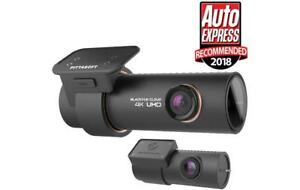 BlackVue DR900S-2CH Dash Cam 4K Front 1080p Rear Wide Camera Angle Night Vision