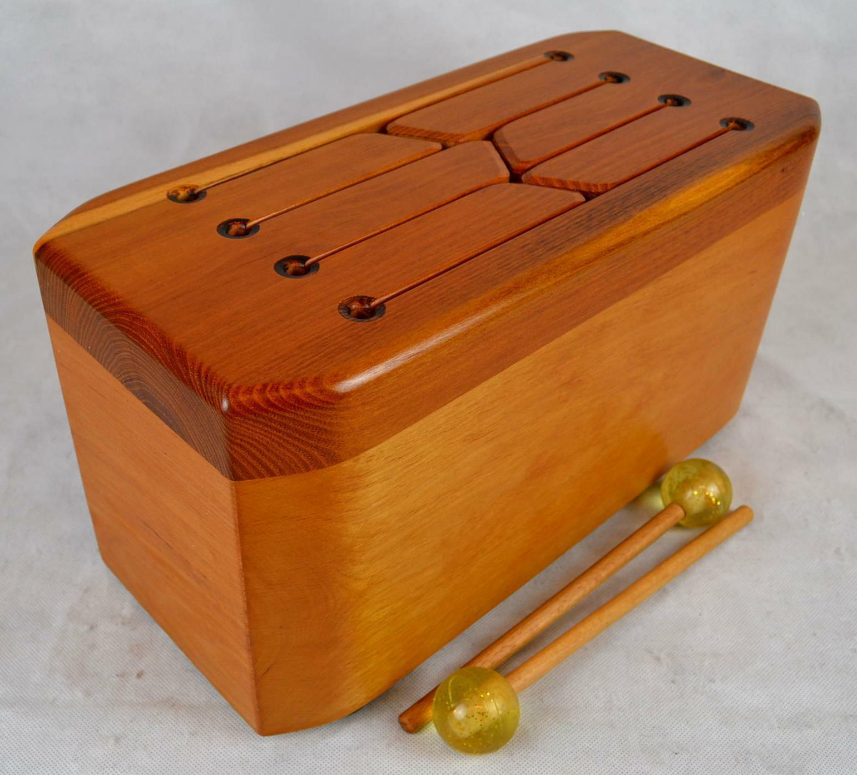 SCHLITZTROMMEL Bass  HORN Percussion   Mod B 5 1 m. Schlägeln HOLZTROMMEL DRUMS