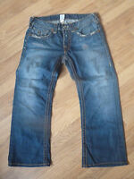 "mens TRUE RELIGION jeans - size 36"" waist good condition"