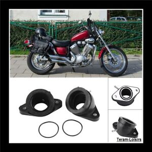 Pipe-Admission-Carburateur-pour-Yamaha-XV-400-500-535-Virago-1988-a-2001-NEUF