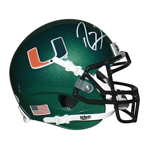 Ray Lewis Autographed/Signed Miami Hurricanes Replica