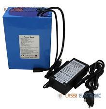 Batteria a Litio Ricaricabile 12V Volt 35AH dim. 160x115x69 + CHARGER 12.6V 3AH