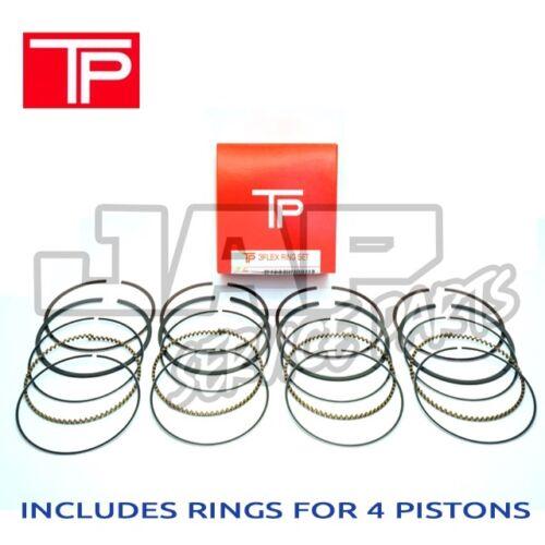 TPR Japon OEM Piston Ring Set X4 STDHonda Civic VTI EK4 B16A Integra DC2 B18C