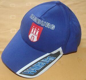 Hamburg  Baseballcap Baseball Cap Fan Capy