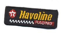 Havoline patch badge hot rod drag race motor oil gasoline sales service texaco