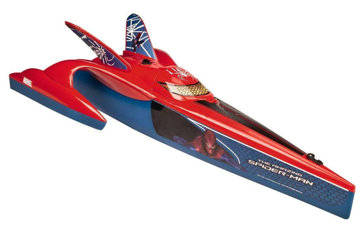 Official Majorette Spider-Man Speeder BoatRC Radio Remote Control