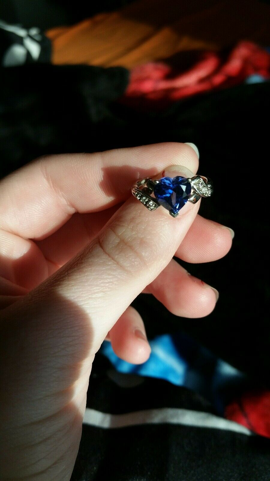 10k Sapphire Ring Size 5