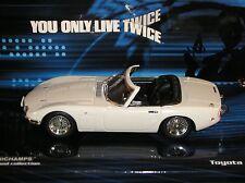 Minichamps James Bond 007 TOYOTA 2000GT 400 166230 1:43 è vivere soltanto due volte
