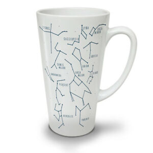 Constelations NEW White Tea Coffee Latte Mug 12 17 oz   Wellcoda