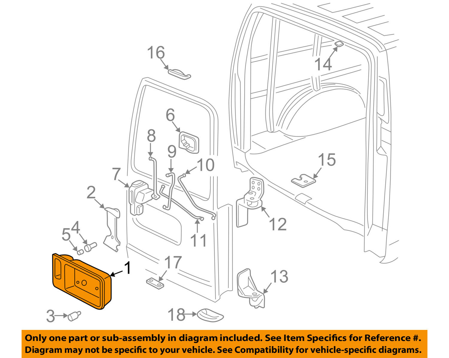 GM OEM Rear Door-Handle Outside Exterior Right 20954816