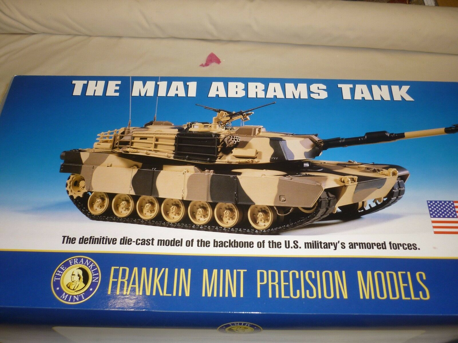 Franklin Comme neuf M1 A1 ABRAMS TANK, boxed