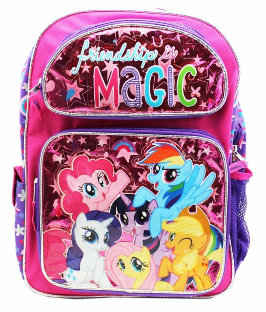 e992d7b38961 Hasbro Licensed New My Little Pony Friendships Is Magic Small 12 Inches  Backpack