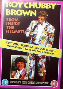FROM-INSIDE-THE-HELMET-DVD-COMEDIAN-ROY-CHUBBY-BROWN-UK-Release-New-Sealed-R2