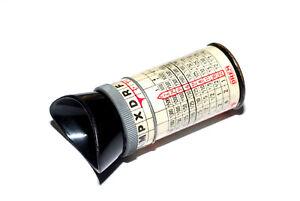 DREM-Justodrem-optischer-Belichtungsmesser-ca-1935-vintage-meter-gebraucht