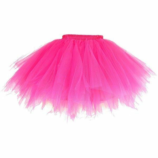 Pink Dancina Women's 50's Tutu Vintage Ballet Petticoat 5 layer & extra Wide