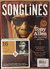 Song Lines Tony Allen Free CD Kasse Mady Diabate Nov/Dec 2014 FREE SHIPPING!