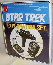 AMT 848/12 - Star Trek, USS Enterprise Exploration Set        New   Plastic Kit