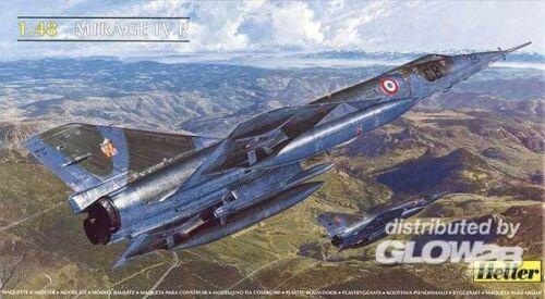 Heller Dassault Mirage IV P 1580493 in 1:48 Heller 80493  .