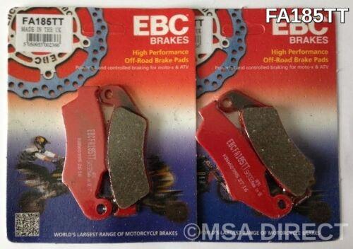 """EBC /""""TT/"""" FRONT Brake Pads FA185TT 2008 to 2011 Honda XL700V Transalp 2 Sets"""