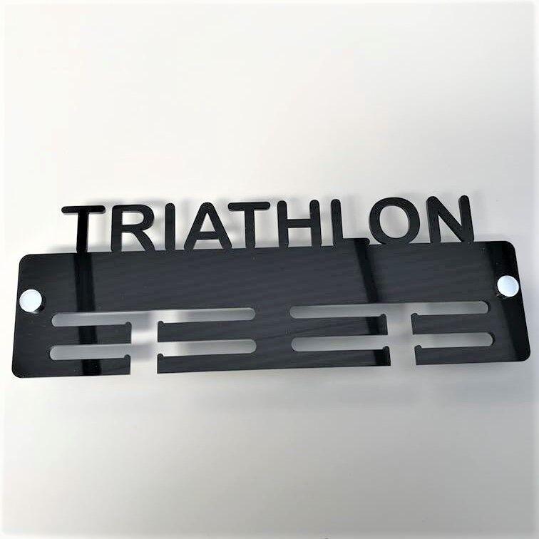 Triathlon Medaille Halterung   Anhänger - - - Viele Farbauswahl - Beinhaltet Alle 3e78a7