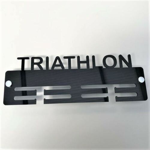 Triathlon Medal Holder / Hanger - Many Colour Choices - Includes all Fixings