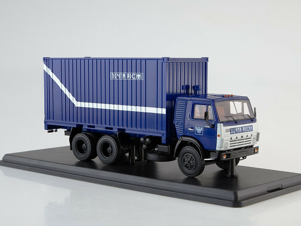 KAMAZ 53212 Russian Post SSM1282 1:43
