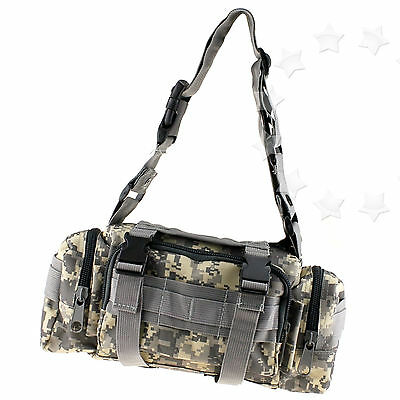 Camouflage Waist Bag Pack For Camping/Hiking/Bike/Sport/Travel Multifunction