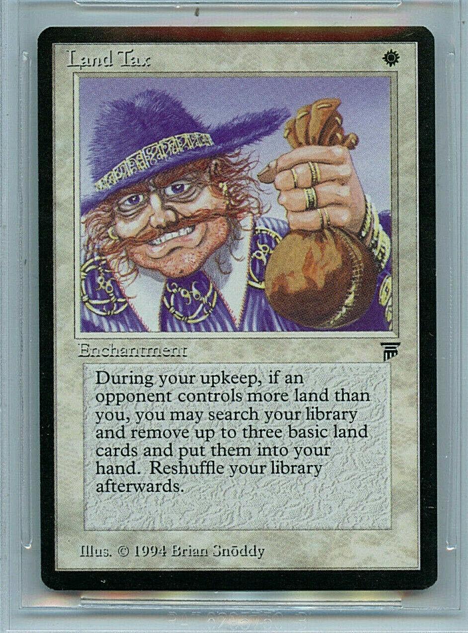 MTG Legends Land Tax BGS BGS BGS 9.5 Gem Mint Magic  card Amricons 5108 6442a2