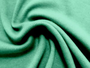 fd391f012f2 Image is loading Terrific-LIGHT-WILLOW-GREEN-Soft-Poly-Cotton-Interlock-