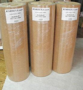 10 m trittschalld mmung rollenkork kork 8 mm f r holz parkett und laminat ebay