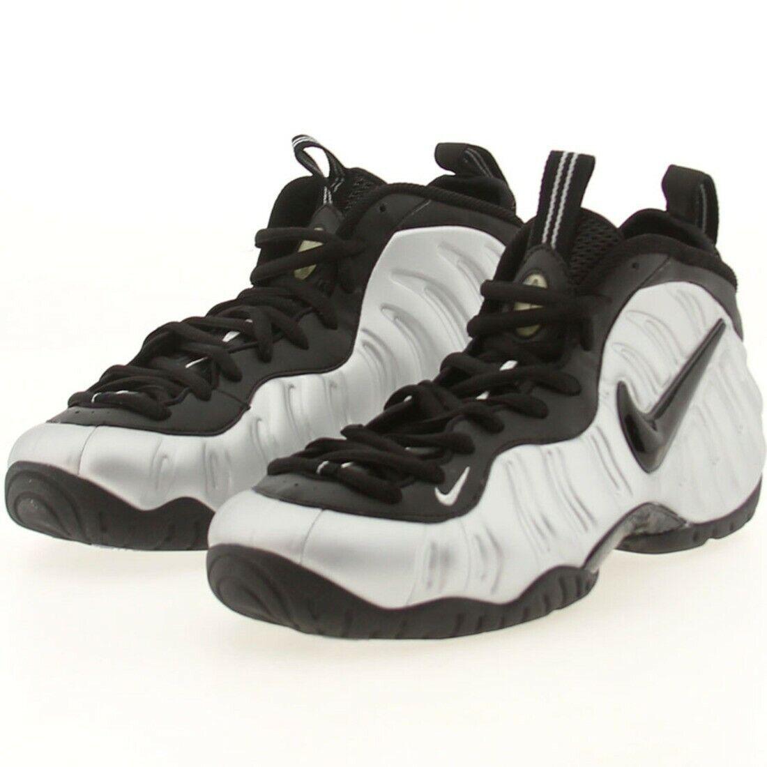 US sz 11.5 Nike Air Foamposite Pro Metallic Silver Black OG 2006 Release Size 11