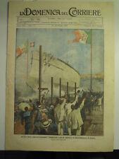 DOMENICA DEL CORRIERE 1920 - CARACCIOLO CASTELLAMARE DI STABIA - SOUIRAH L-10/59