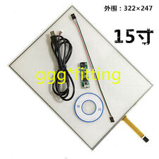"""One For 15"""" 4 Wire Resistive Touch Screen Panel Kit (4:3) 15"""" LCD TFT Monitor"""