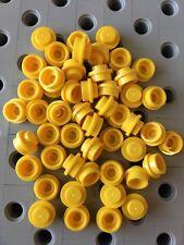 Lego 1X1 Black Round Dots Plates Bricks Stud New Lot Of 100