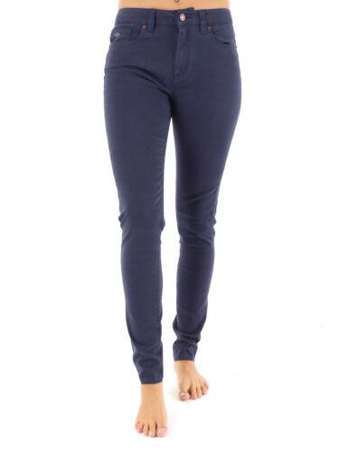 New O'Neill Trousers Long Trousers Cloth Pants High Rise Skinny Blau 5-pocket