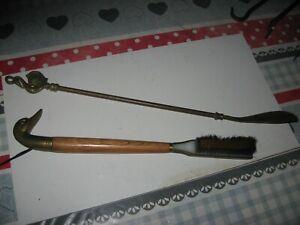 Dasco 11 et 25 /à 28 cm de long Chausse-pied fabriqu/é /à la main corne v/éritable