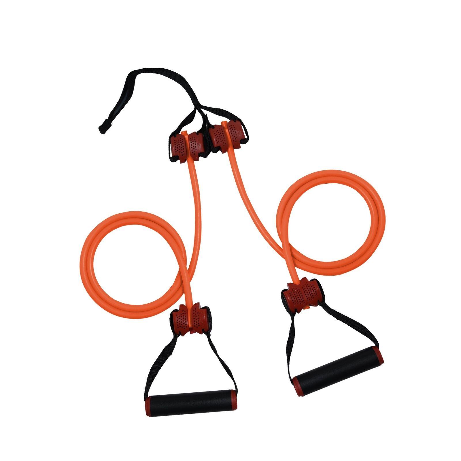 Orange 50 lb Lifeline Trainer R5 Resistance Cables