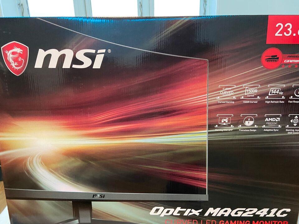 MSI, Optix MAG241C, 23 tommer