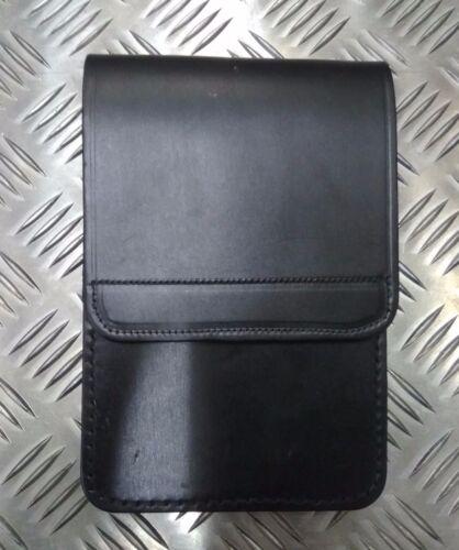PSNI Black Leather Notebook Holder Police Genuine British Military PWL01X