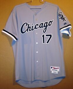 Chicago white sox tyler flowers gray 17 game worn size 50 mlb image is loading chicago white sox tyler flowers gray 17 game mightylinksfo