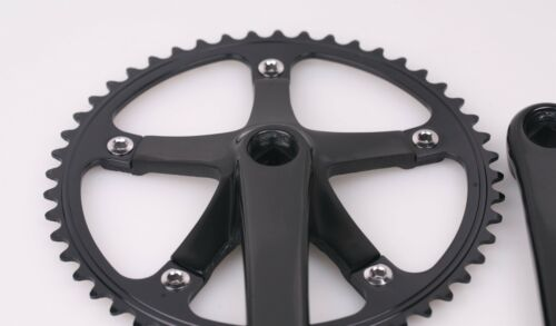 J/&L 70s Classic//Vintage Crank Set for  Fixed Gear,Single Speed,Fixie,Track