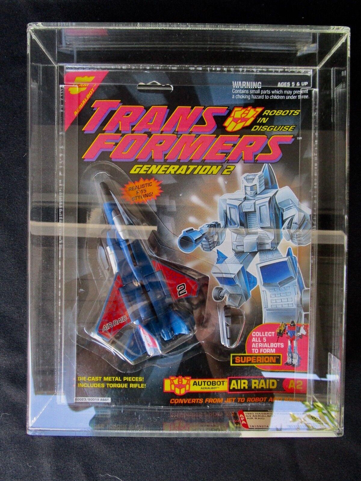 1993 Transformers Air Raid Aerialbot G2 AFA Sealed MISB MIB scatola
