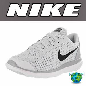 e0e3d131d9e9 Nike Preschool Size 2.5Y Flex 2017 RN (PS) Shoes Platinum Wolf Grey ...