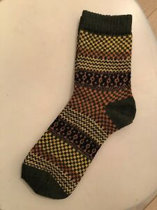 b4c4eeb52d Details about BRAND NEW Wool Blend Hiking Socks Fits Most Sizes Olive Green  FAST SHIPPING!