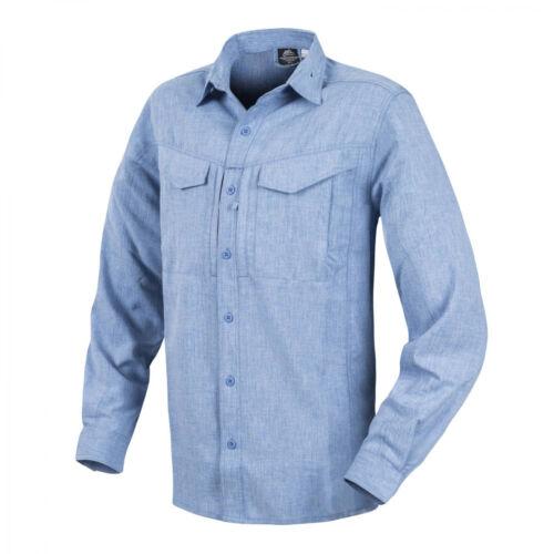 Melange Light Blue Helikon-Tex Defender Mk2 Gentleman Shirt Hemd