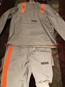 Chaqueta Para Hombre De La Nasa Reflectante Y Pantalones Forever 21 Talla Xl Ebay