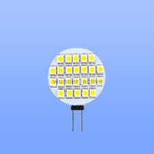 G4 24 SMD 3528 LED Lampe Birne Licht Leuchtmittel warmweiss 90LM DC 12V 0.9W