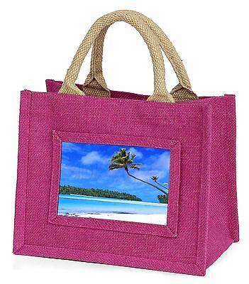 2019 Nuovo Stile Paradiso Tropicale Spiaggia Bambine Small Rosa Shopping Bag Natale G, W-6bmp-mostra Il Titolo Originale