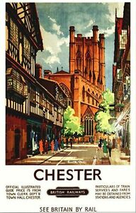 Pity, that Old british railways posters made you